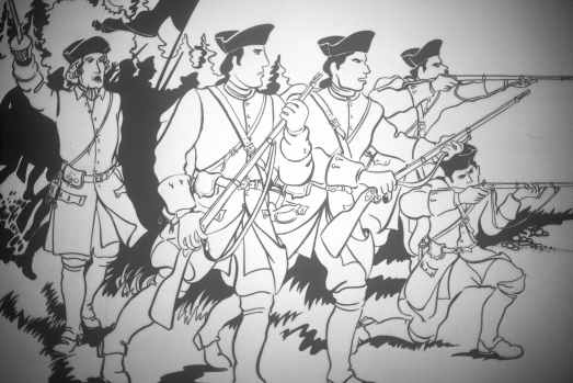 Dessin Soldats à l'attaque - copie